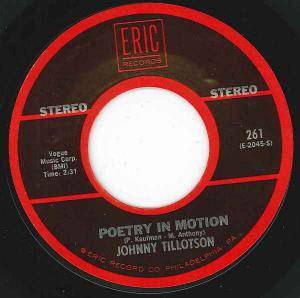 Johnny Tillotson: Poetry In Motion - Cover