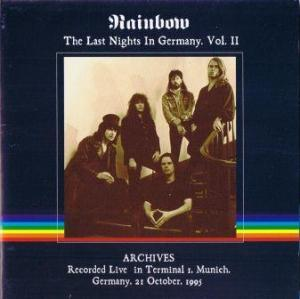 Ritchie Blackmore's Rainbow: Last Nights In Germany Vol. II, The - Cover
