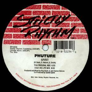 Cover - Phuture: Spirit