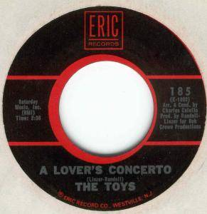 Cover - Toys, The: Lover's Concerto / Music To Watch Girls By, A