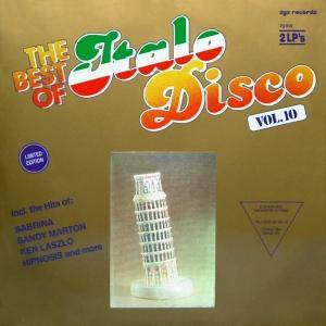 Cover - T. Ark: Best Of Italo Disco Vol. 10, The