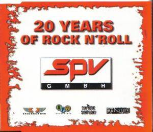 SPV - 20 Years Of Rock N'Roll - Cover