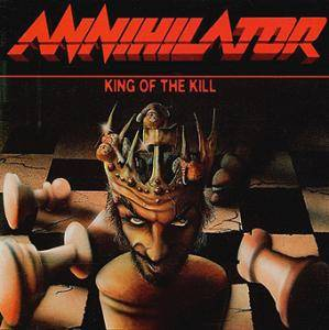 Annihilator: King Of The Kill - Cover