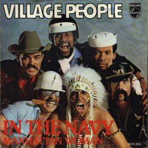 Village People: In The Navy - Cover
