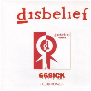 Disbelief: 66sick - Cover