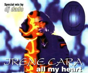 Cover - Irene Cara: All My Heart