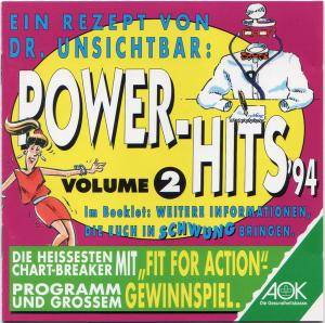 Power-Hits '94 Volume 2 - Cover