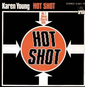 Karen Young: Hot Shot - Cover