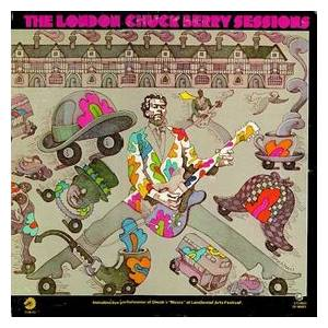 Chuck Berry: London Chuck Berry Sessions, The - Cover