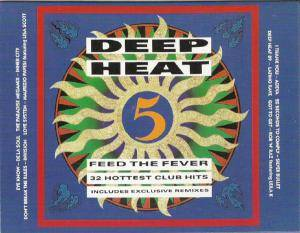 Deep Heat 5 - Feed The Fever - Cover