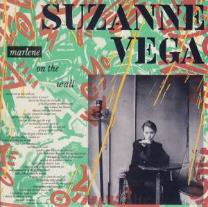 Suzanne Vega: Marlene On The Wall - Cover