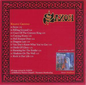Saxon: Killing Ground (CD) - Bild 2