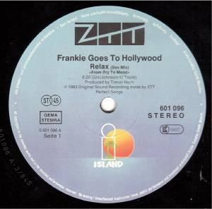 "Frankie Goes To Hollywood: Relax (12"") - Bild 3"