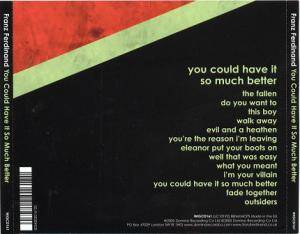 Franz Ferdinand: You Could Have It So Much Better (CD) - Bild 2
