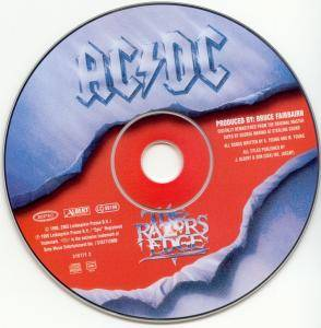 AC/DC: The Razors Edge (CD) - Bild 3