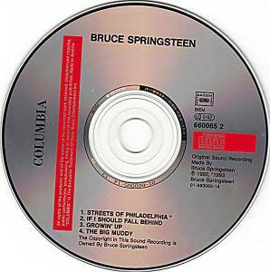 Bruce Springsteen: Streets Of Philadelphia (Single-CD) - Bild 3