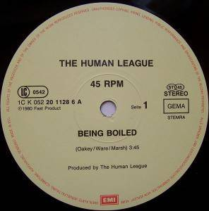 "The Human League: Being Boiled (12"") - Bild 2"