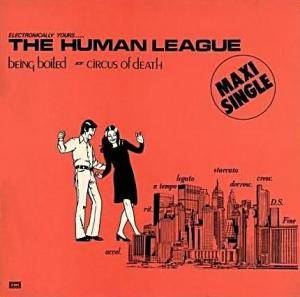 The Human League: Being Boiled - Cover