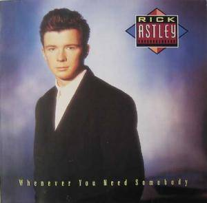 Rick Astley: Whenever You Need Somebody (LP) - Bild 1