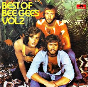 Bee Gees: Best Of Bee Gees Vol.2 (Polydor/RSO) - Cover