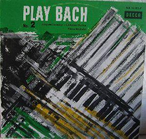 Jacques Loussier: Play Bach No.2 - Cover