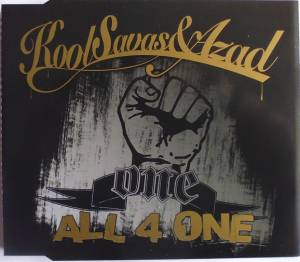 Kool Savas & Azad: All 4 One - Cover