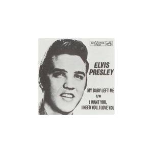 Elvis Presley: I Want You, I Need You, I Love You - Cover