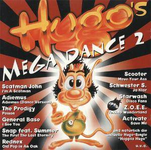 Hugo's Mega Dance 2 - Cover