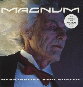 Magnum: Heartbroke And Busted - Cover