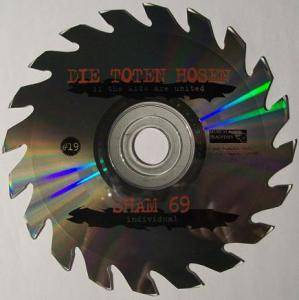 Die Toten Hosen / Sham 69: If The Kids Are United (Split-Shape-Single-CD) - Bild 1