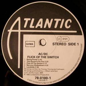 AC/DC: Flick Of The Switch (LP) - Bild 3