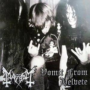 Mayhem: Vomit From Helvete - Cover