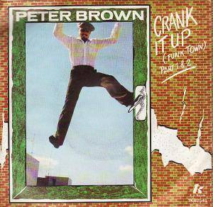 Cover - Peter Brown: Crank It Up