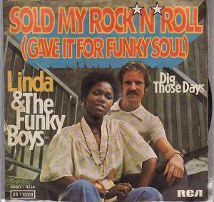 Cover - Linda & The Funky Boys: Sold My Rock'n Roll