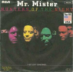 Cover - Mr. Mister: Hunters Of The Night