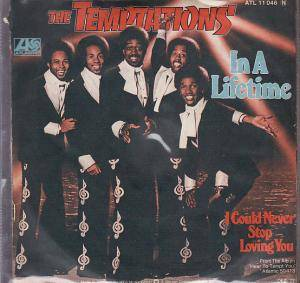 The Temptations: In A Lifetime - Cover