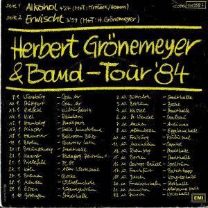 """Herbert Grönemeyer: Alkohol (7"""") - Bild 2"""
