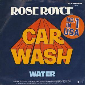 Rose Royce: Car Wash - Cover