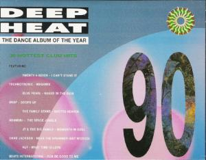 Cover - Various Artists/Sampler: Deep Heat 90