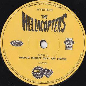 "The Hellacopters: Move Right Out Of Here (7"") - Bild 3"
