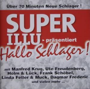 Super Illu - Hallo Schlager - Cover