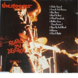 Stooges, The: Search And Destroy - Cover