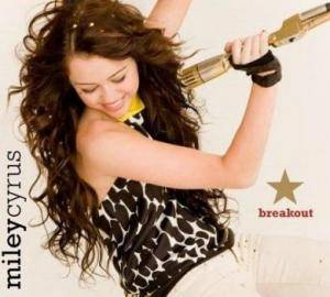 Miley Cyrus: Breakout - Cover