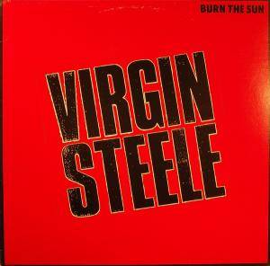 Virgin Steele: Burn The Sun - Cover