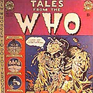 The Who: Tales From The Who - Cover