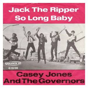 Cover - Casey Jones & The Governors: Jack The Ripper