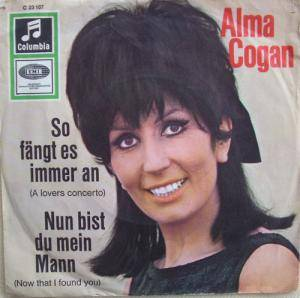 Cover - Alma Cogan: So Fängt Es Immer An (A Lovers Concerto)