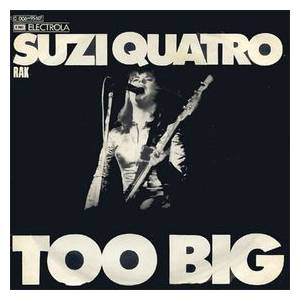 Suzi Quatro: Too Big - Cover