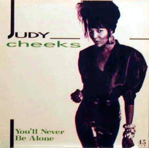Cover - Judy Cheeks: You'll Never Be Alone