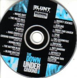 Cover - Gerling: Blunt CD Issue #28 ~ The Down Under Ground II